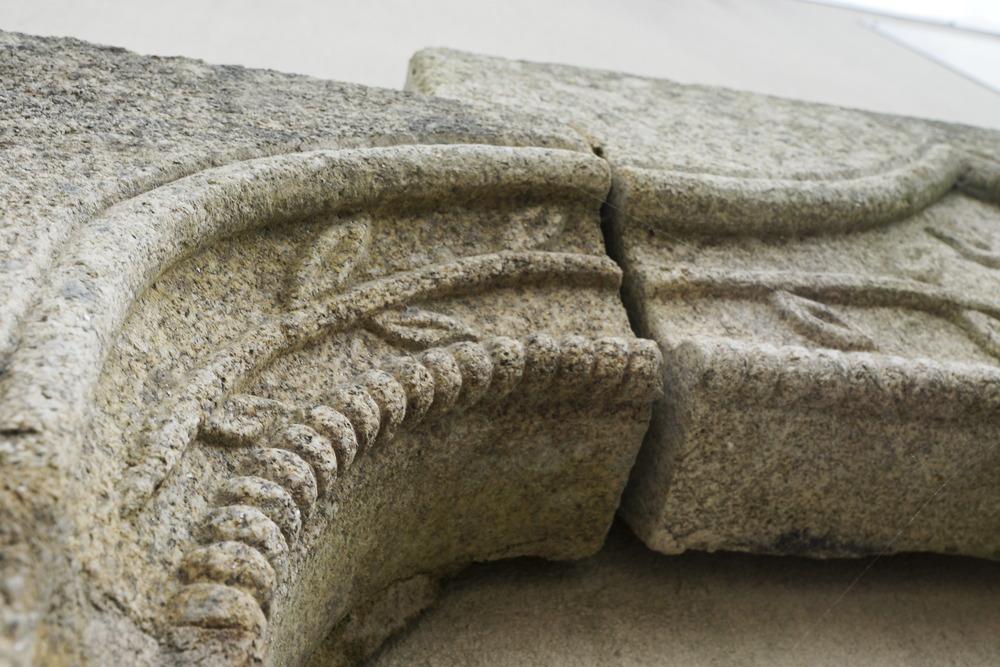 Cornouaille Granit Taille De Pierres Batiment